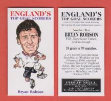 England Bryan Robson Manchester United